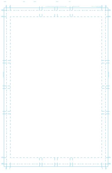 Standard-sized page template | ka-blam digital printing.