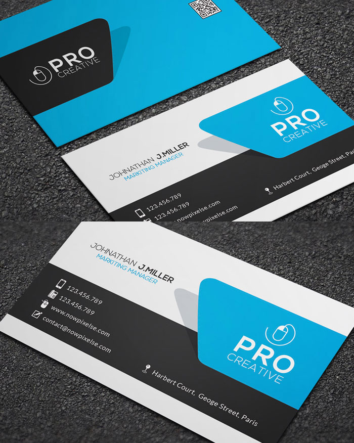 Business card template psd idealstalist business card template psd wajeb Image collections