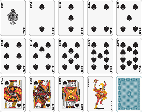 Deck of Playing Card Templates