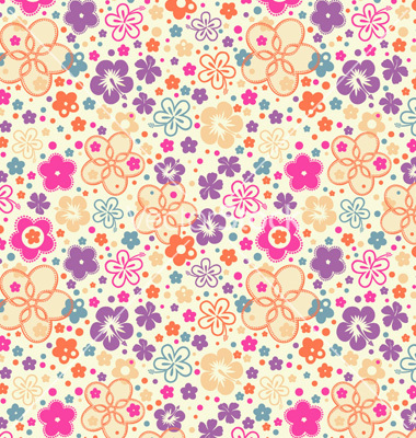 Ditsy Floral Pattern
