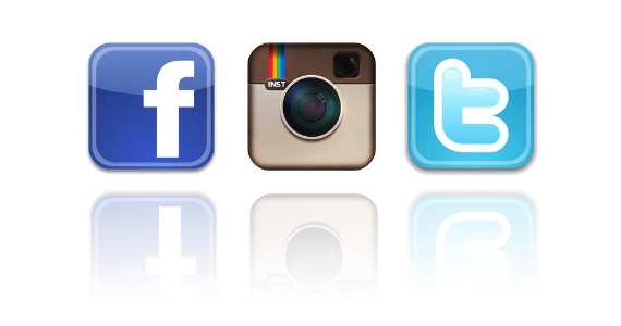 7 Facebook Twitter Instagram Icons Images