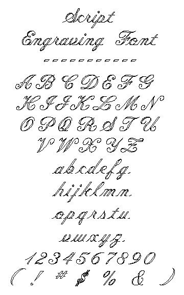 Fancy Cursive Script Font