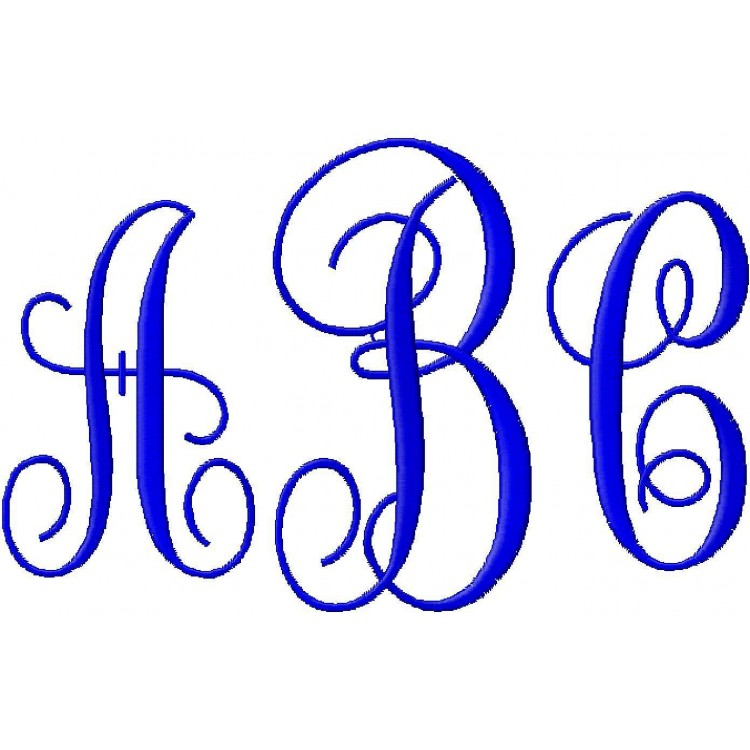 9 Kk Monogram Embroidery Font Images