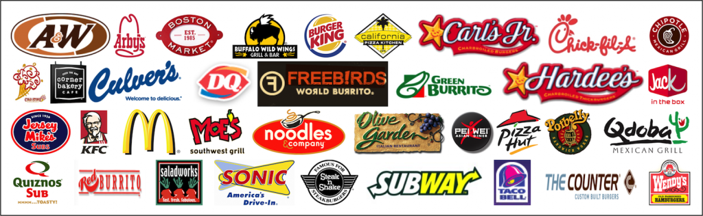 14 Restaurant Chain Icons Images