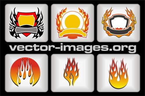 Fire Vector Art