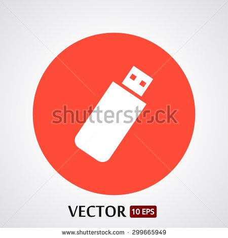 Flashdrive Icons Vector