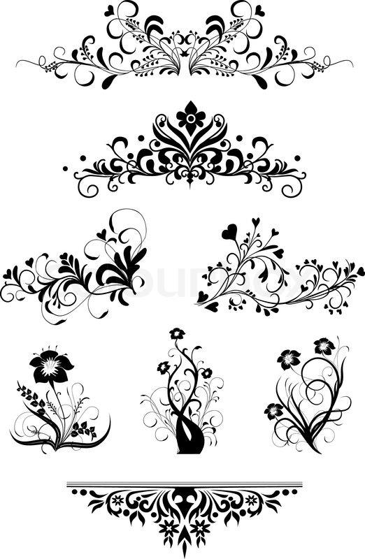 Flower Text Symbol