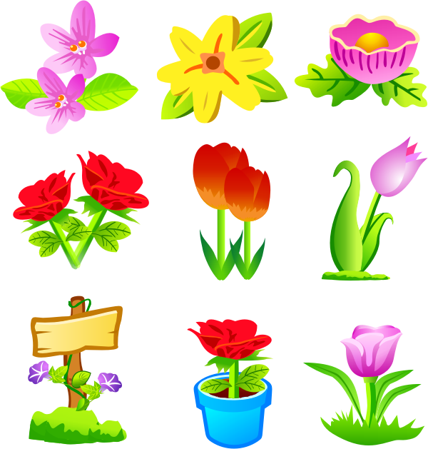 Flower Vector Free Download