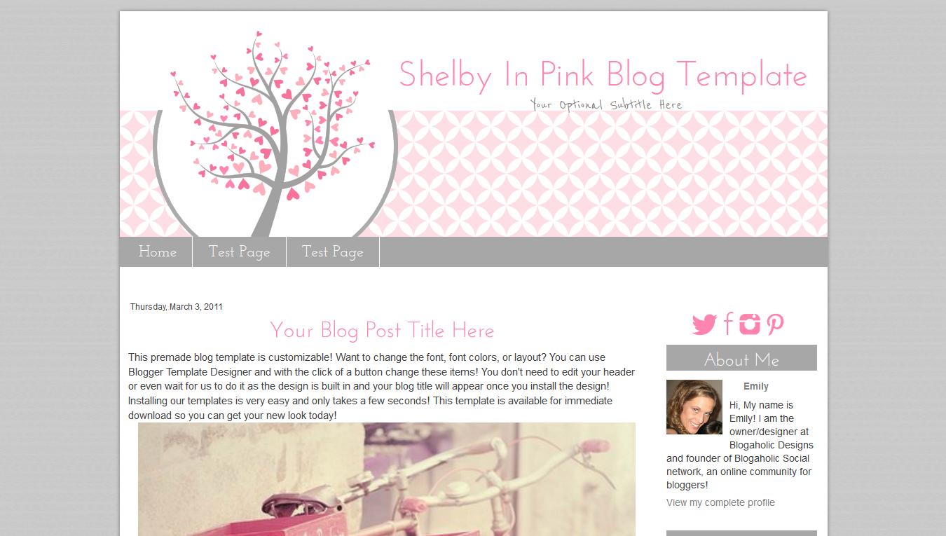 Wunderbar Vorlage Kostenloser Blogspot Zeitgenössisch - Entry Level ...