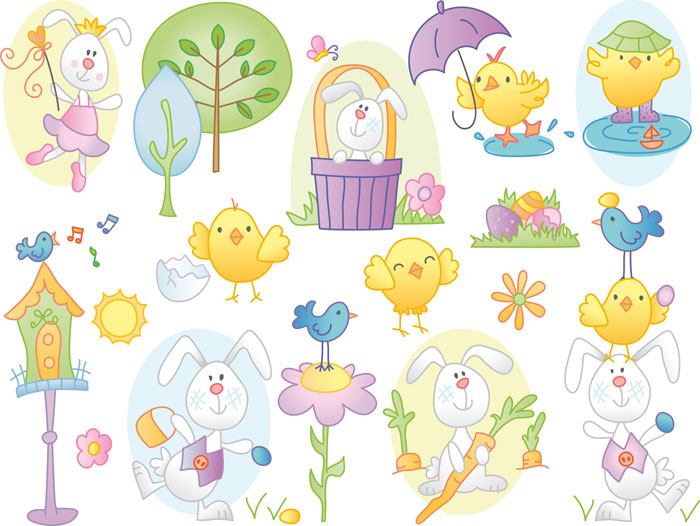 Free Easter Clip Art Vector