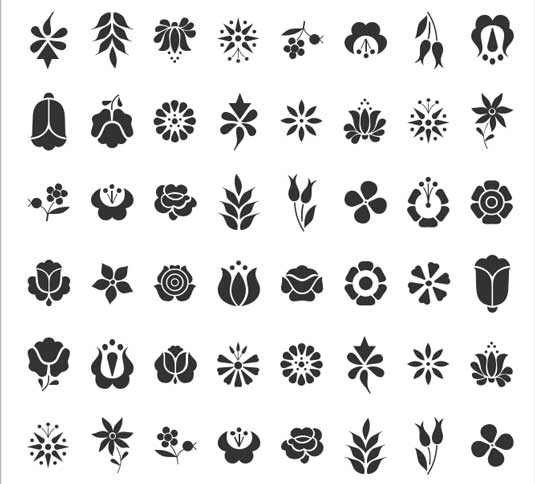 13 Flower Font Symbol Images