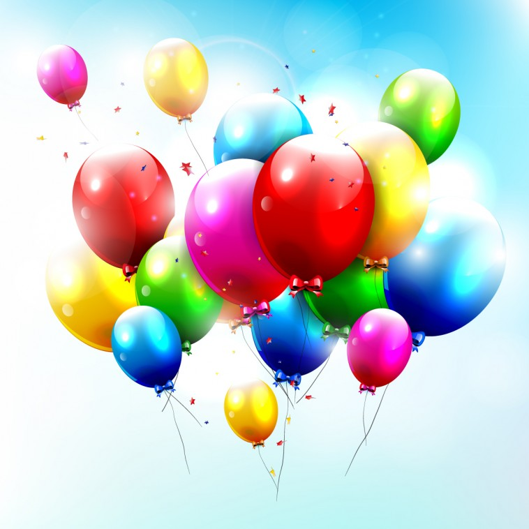 Free Happy Birthday Balloons