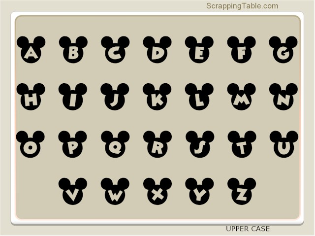 15 Mickey Mouse Head Font Images