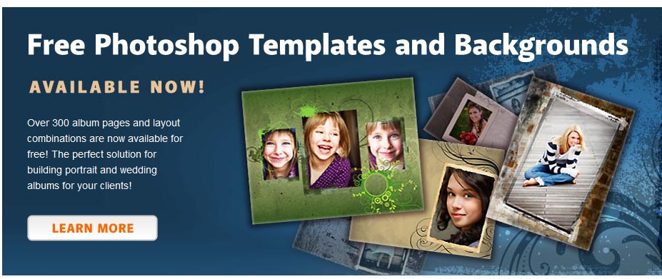 Free Photoshop Album Templates