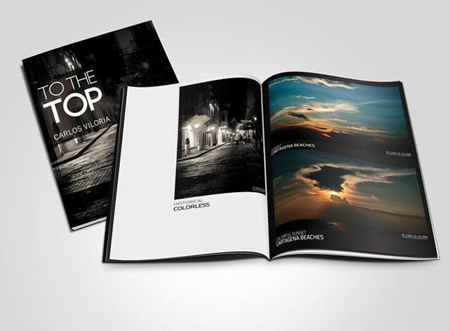 Free Psd Magazine Mockup Template