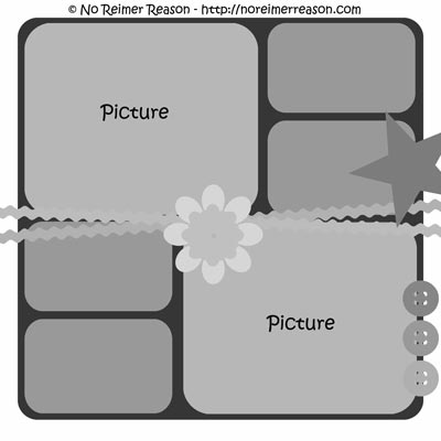 16 Free Psd Templates For Scrapbook Images Free Scrapbook Page