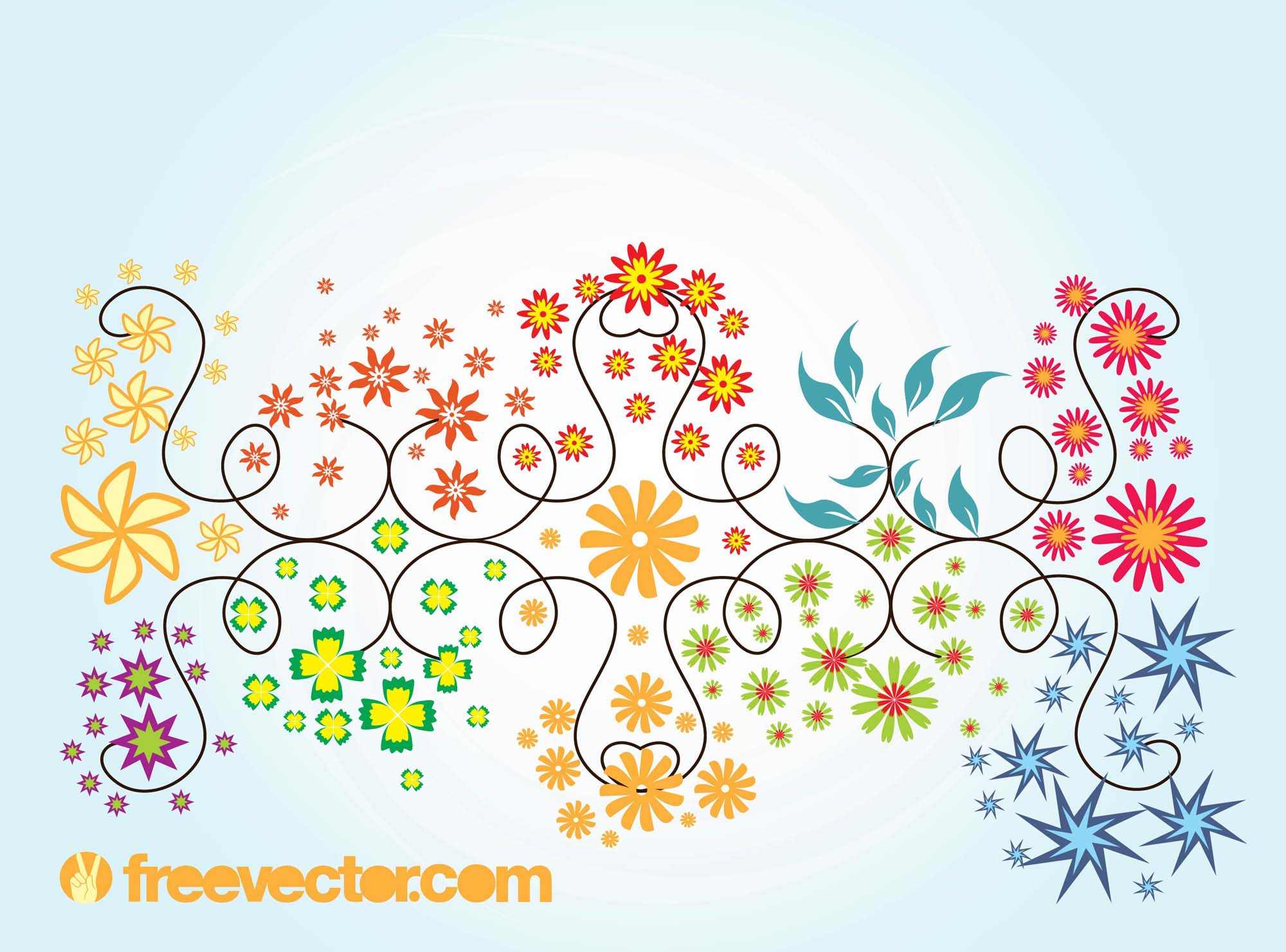Free Summer Vector Graphics