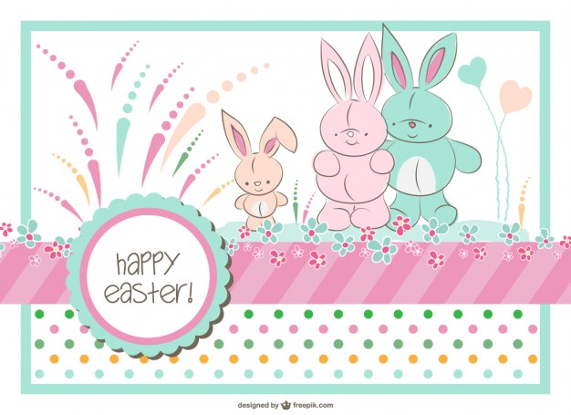 Free Vector Easter Bunny