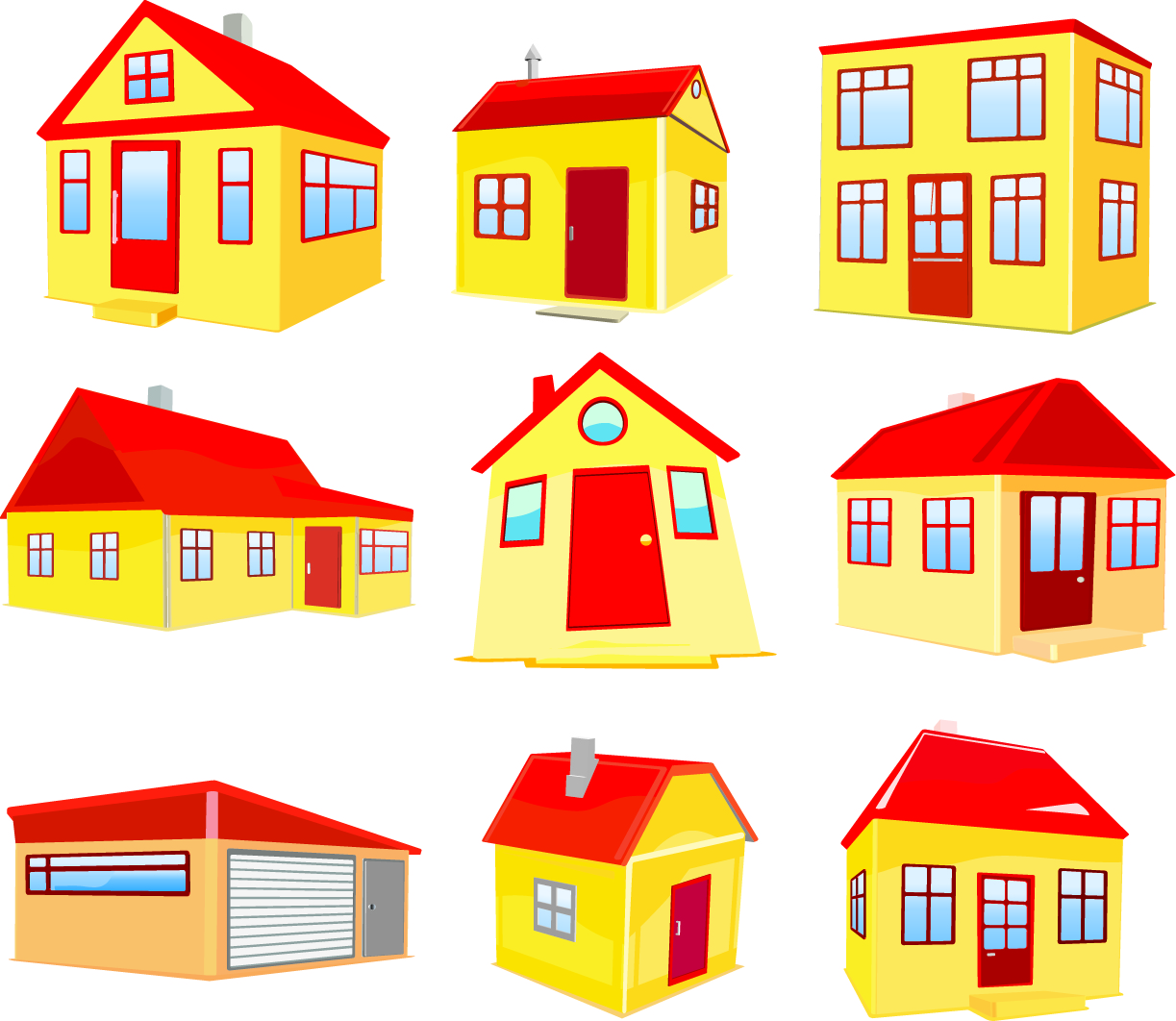 14 house construction vector images building for Free home builder