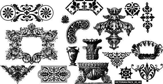 17 Victorian Vector Banners Images