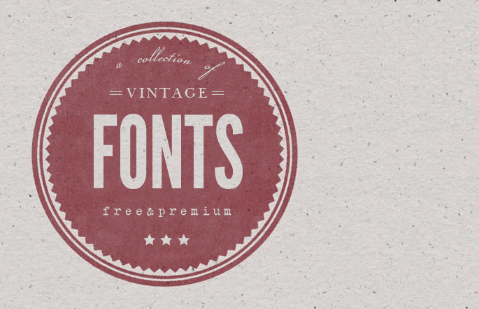 Free Vintage Script Font