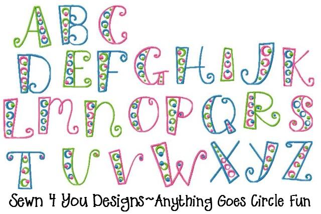 Fun Letter Fonts