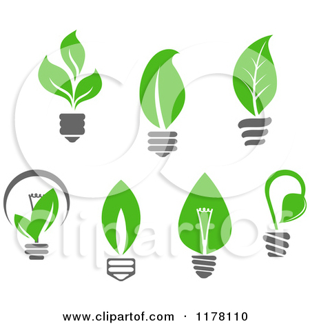11 Leaf Green Energy Icon Images