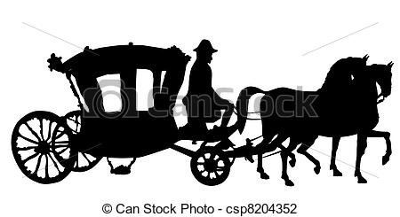 6 Horse And Carriage Icon Images