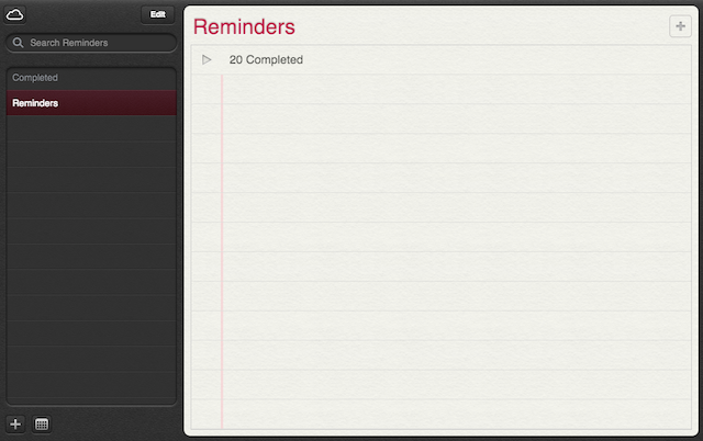 iPhone App Icons Notes and Reminder