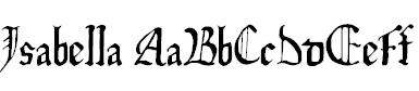 Isabella Calligraphy Font Free