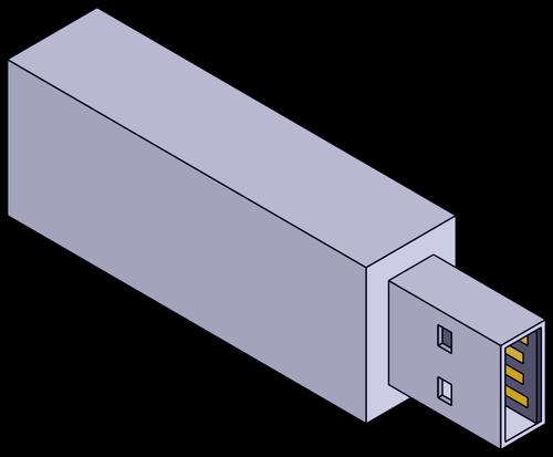 Isometric Flashdrive