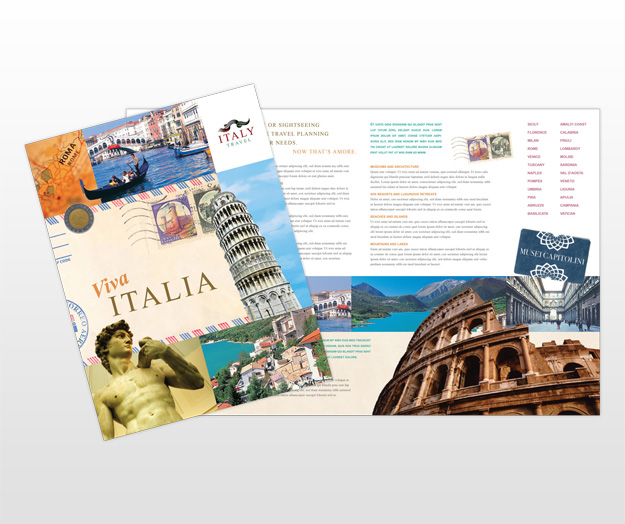 How to Make a Travel Brochure for a School Project