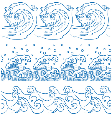 Japanese Wave Clip Art