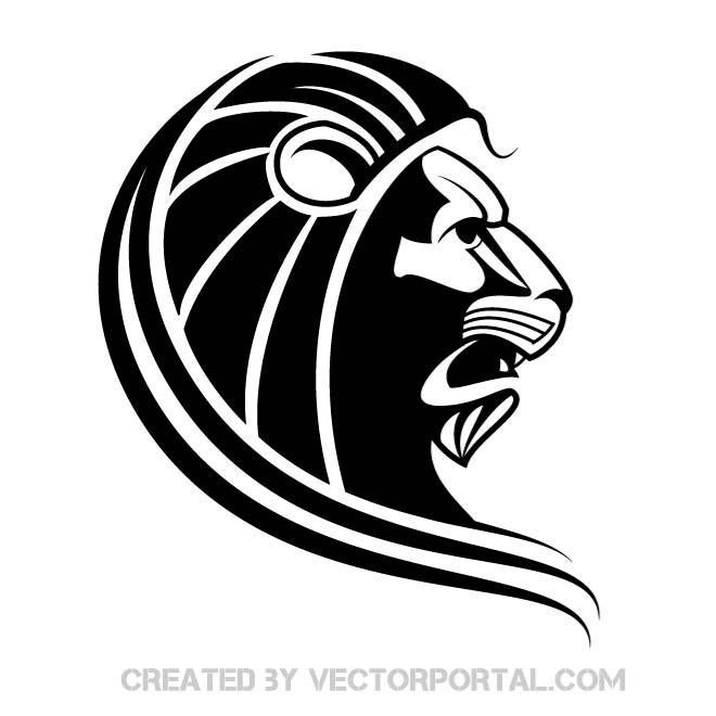 15 Lion With Sword Silhouette Vector Images