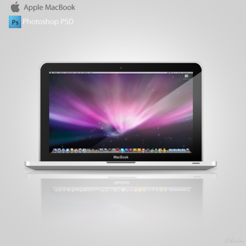 10 New MacBook Pro PSD Images