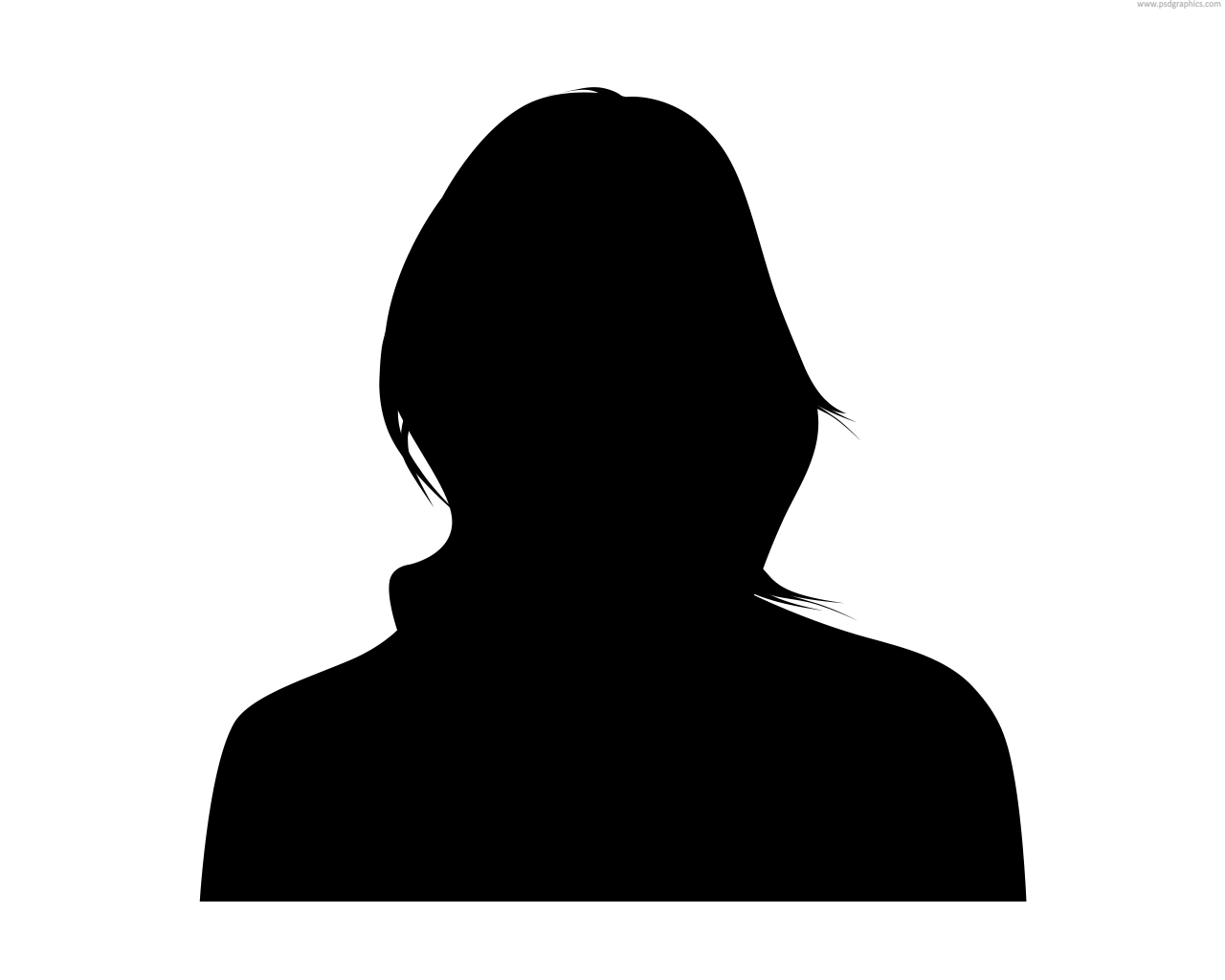 16 Woman Silhouette Icon Images
