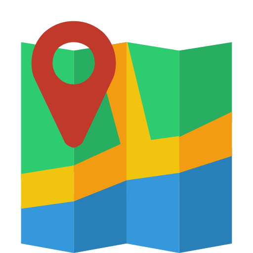 15 Flat Map Icon Images