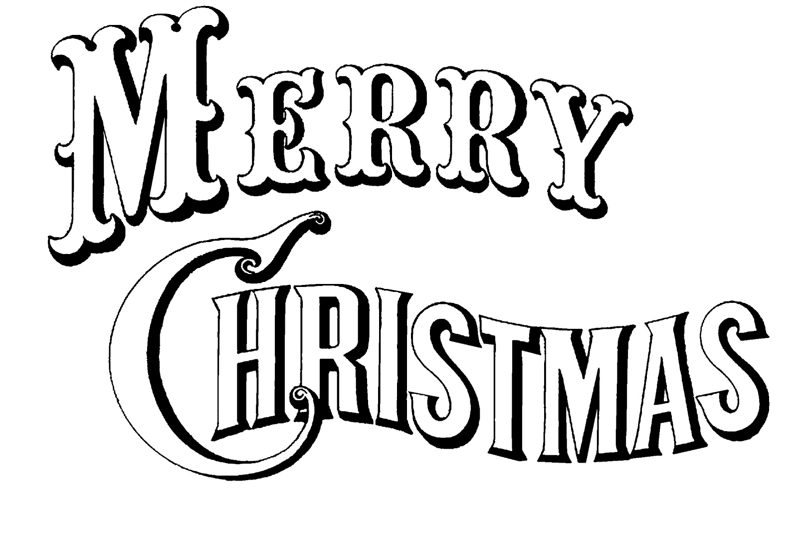 8 Merry Christmas Icons Clip Art Images