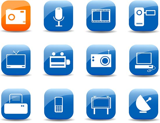 13 Mobile Web Icon Images