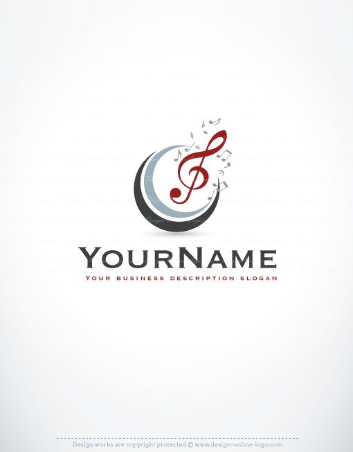 12 free music logo design images music note logo designs