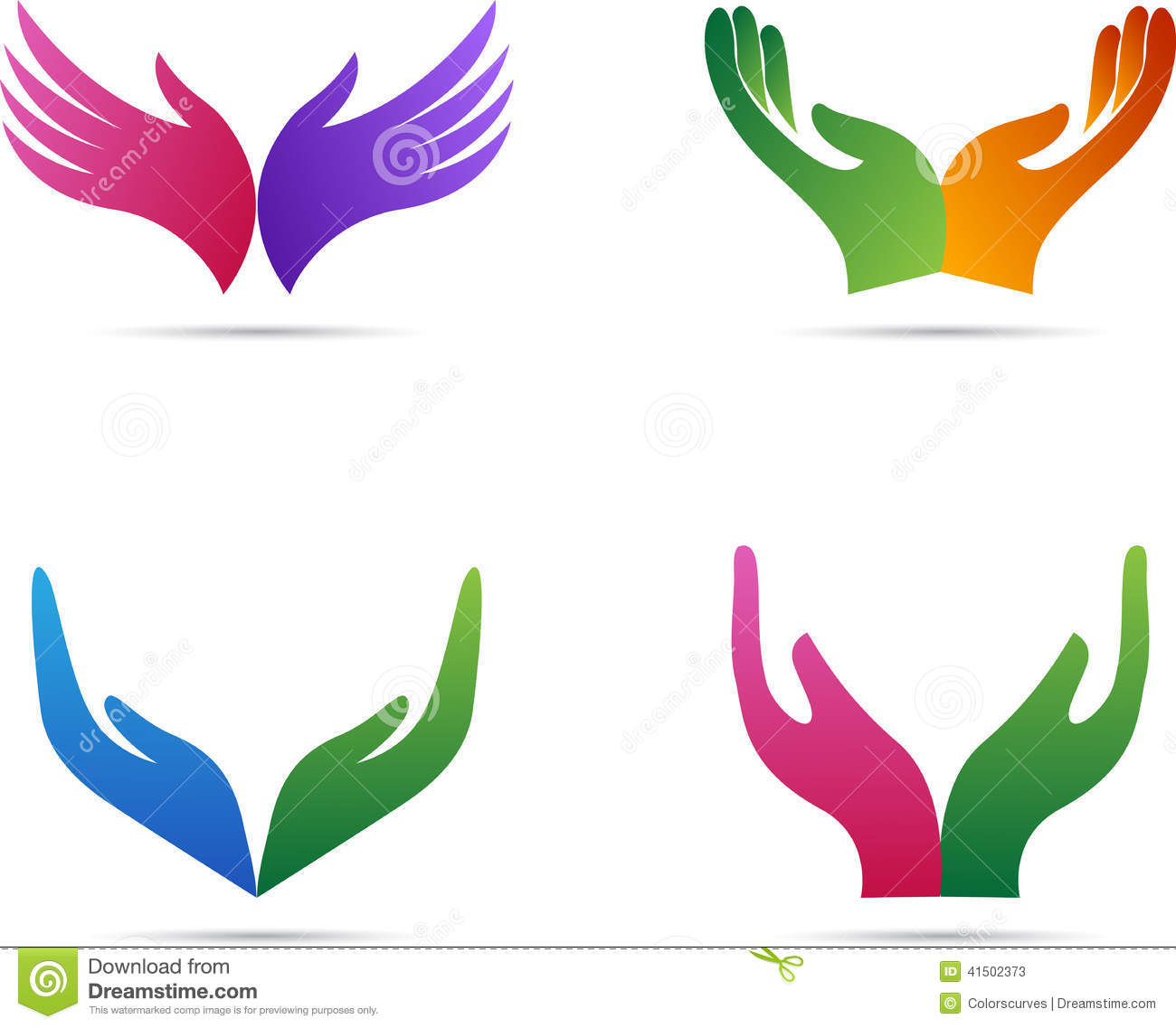 11 Open Hands Vector Images