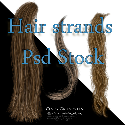 Photoshop Hair Stock