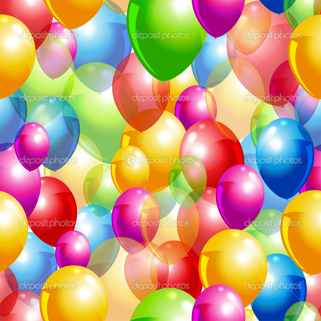 Pinterest Balloon Background
