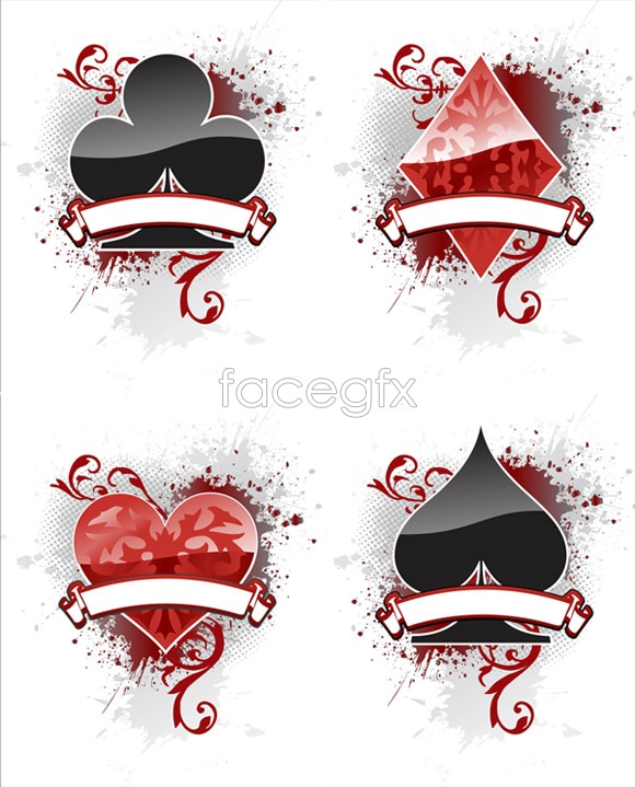 Playing Card Suit Vector