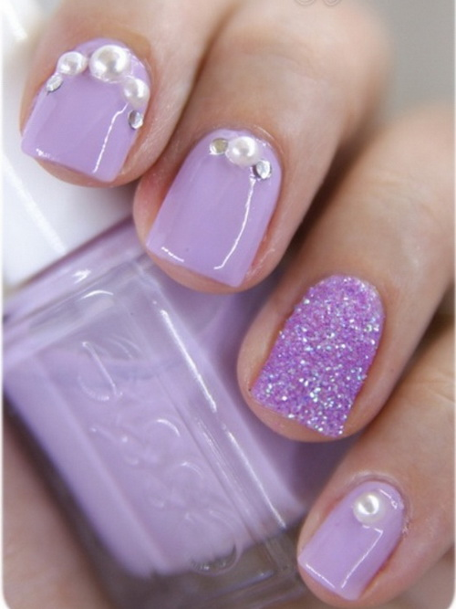 Purple nail designs for prom gallery nail art and nail design ideas nail  art pink and - Cute Nail Designs Purple Images - Nail Art And Nail Design Ideas