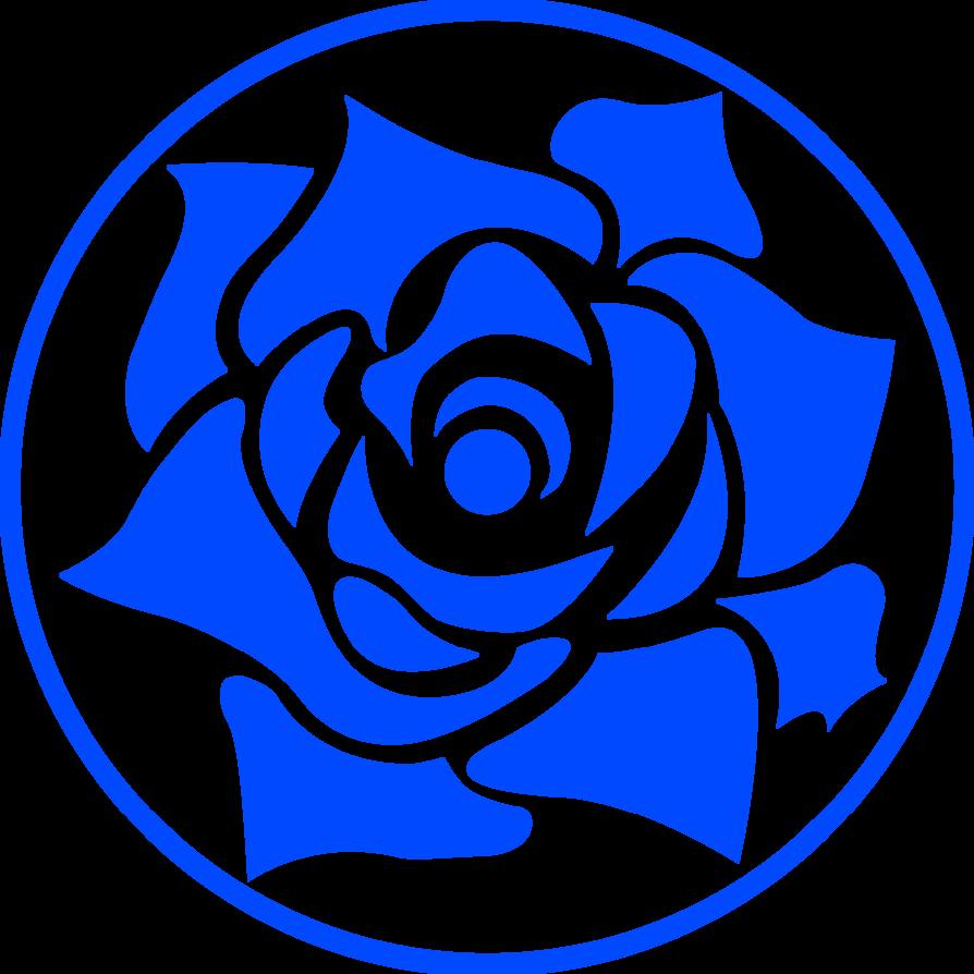 13 Blue Rose Vector Art Images