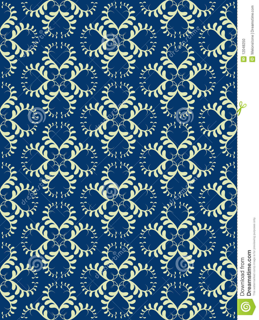 Royal Blue and Silver Background