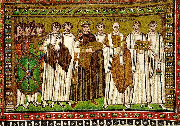 San Vitale Mosaics Justinian and Theodora