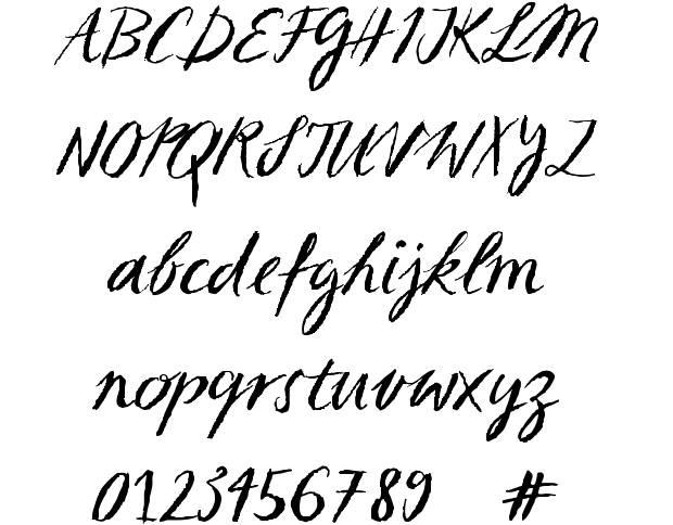 Sketch Script Font