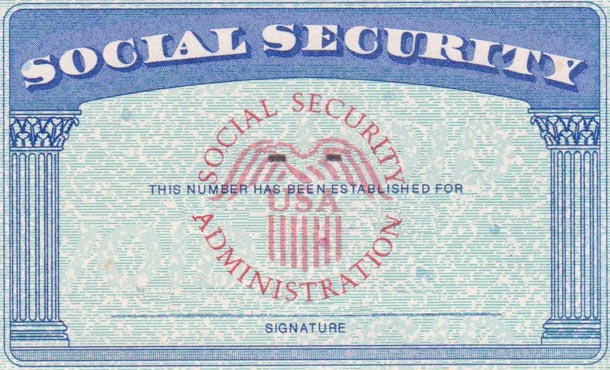 10 SSN Template PSD Images - Social Security Card Blank ...